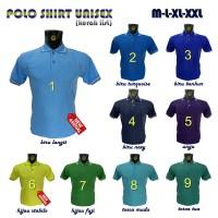 Kaos Kerah Polos - Polo Shirt - Kaos Kerah Seragam - Kaos Kerah Pendek