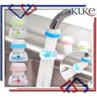 KUKE Sambungan Kran FLEXIBLE Filter Air Anti Splash Shower