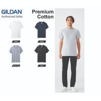 Kaos Polos Tebal GILDAN Hammer Pocket HA30 Baju Kaos Oblong