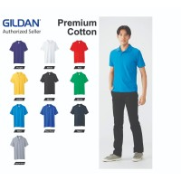 Kaos Kerah Polo GILDAN Dryblend CVC Sport Shirt 95800 Polo Kaos Shirt