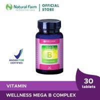 Wellness Mega B Complex 30 Tablets