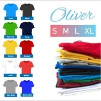 Kaos Polos Dewasa Pria Wanita Size S M L XL | Kaos Oblong Dewasa