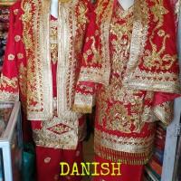 Baju Pengantin Minang Koto gadang Lame Bordir