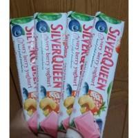 Silverqueen Milk Very Berry Yoghurt coklat valentine silver queen