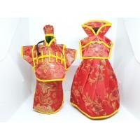Baju Botol Wine Couple Cheongsam Sangjit Wedding Perkawinan Cina Imlek