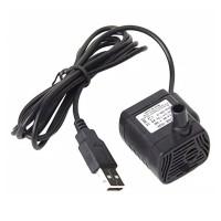 Pompa Mini Celup 3W USB DC 3.5V-9V / Pompa Akuarium Mini