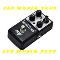 Efek Gitar Nux Metal Core Original Garansi Resmi