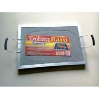 Alat panggang griller pan alat masak pemanggang batu bakar granito