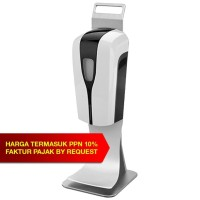 AUTOMATIC HAND SANITIZER / SOAP DISPENCER + TRAY + TABLE HOLD
