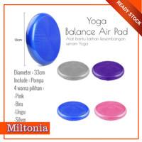 Balance Pad Yoga Partner Alat Olahraga Bantalan Fitness Alasan Senam