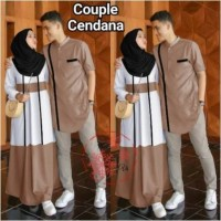 Baju Gamis Remaja Syar'i Couple Suami Istri Keluarga Lebaran Terbaru 5