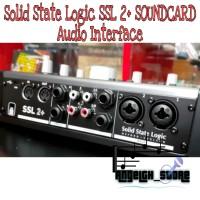 SOLID STATE LOGIC SSL 2+ SOUNDCARD AUDIO INTERFACE