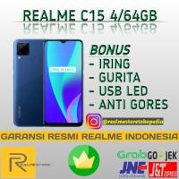 REALME C15 4/64GB NEW GARANSI RESMI