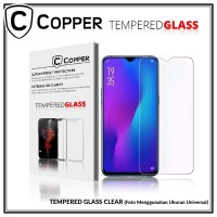 Samsung A8 Plus 2018 - COPPER TEMPERED GLASS FULL CLEAR