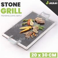 Pemanggang Batu Bakar Batu Bakaran Batu Stone Grill Pan Roaster Grill
