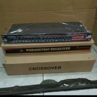 Paket Kit parametric equalizer CKJ 420 plus box dan 2 lampu vu