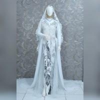 PROMO AKAD MURAH gaun / baju kebaya pengantin kebaya akad lengkap