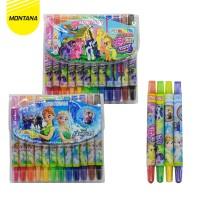 Twist Crayon / Krayon Putar Montana T-TC12 Mini / 12 Warna / Colors