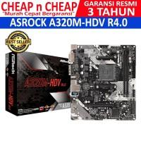 Motherboard ASROCK A320M-HDV AMD Socket AM4 Garansi 3 Tahun