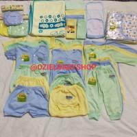 paket 40 pcs perlengkapan bayi baru lahir SNI