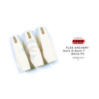 FLEX ARCHERY NOCK O-NOCK - White 11 - 32