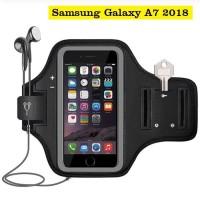 Samsung A7 2018 Armband Arm Band Sarung Lengan Case Casing Lari Fitnes