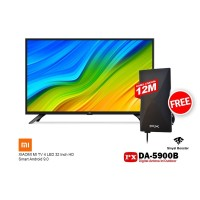 XIAOMI MI TV 4 32 Inch LED TV Smart Android 9 FREE ANTENA PX DA-5900B