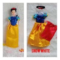Kostum Princess Snow White/Baju Boneka Barbie