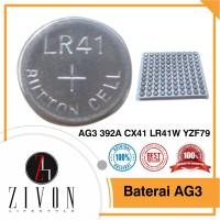 Baterai Batre Batere Kancing AG3 392A CX41 LR41W YZF79