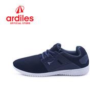 Ardiles Men Fregeta Sepatu Sneakers - Hitam Abu