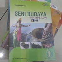 Seni Budaya SMP kelas 7 penerbit Erlangga KTSP 2006   buku bekas ya
