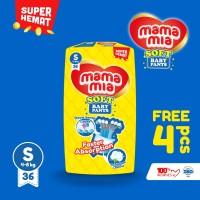 Mamamia Soft Popok Bayi Tipe Celana S36+4