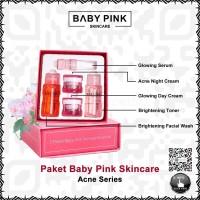 PAKET BABY PINK SKINCARE ACNE SERIES BABYPINK