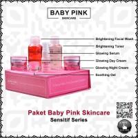 PAKET BABY PINK SKINCARE WHITENING SENSITIF SERIES BABYPINK