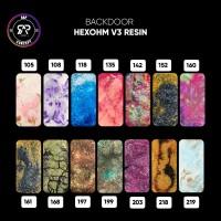 BACKDOOR RESIN HEXOHM V3 BY RAP CONCEPT