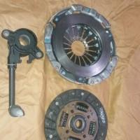 Set Kopling Clutch / Dekrup Cover Disch + Deck Laher Datsun Go Panca