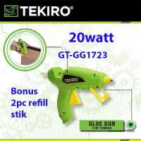 Tekiro Glue gun 20 watt / lem tembak / Glue stick / tembakan lem 7mm