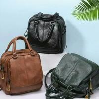 New Tas Wanita Import Tas Multifungsi Backpack Selempang Jinjing Korea