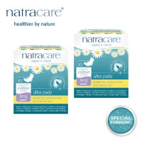 Natracare Ultra Pads Long 10s (2 pack)
