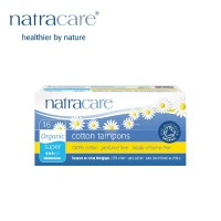 Natracare Cotton Tampons Super with Applicator