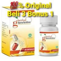 Obat Herbal GlucoActive Atasi Diabetes Kencing Manis Basah dan Kering