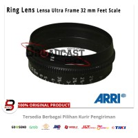 Ring Focus lens 32 mm ARRI / Zeiss Ultra prime Distance Feet Scale