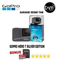 GOPRO HERO 7 SILVER EDITION RESMI(ORIGINAL)HERO7 SILVER