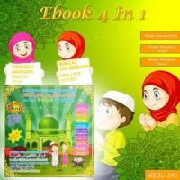 E-BOOK MUSLIM 4IN1 Playpad Buku Edukasi Anak 4 Bahasa Belajar Membaca