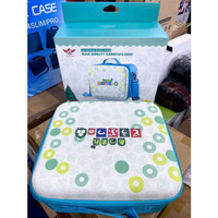 Animal Crossing Travel Carrying Case For Nintendo Switch (Blue & Pink)