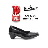 Dragobby Women Formal Shoes Pantofel Wanita Sepatu Kantor K-04