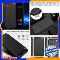 Asus Zenfone Live 5.0 ZB501KL - PREMIUM Carbon Fiber Brushed Soft