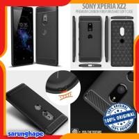 Sony Xperia XZ2 - PREMIUM Carbon Fiber Brushed Soft Case Casing Cover