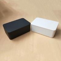 Kotak Tisu Basah Bentuk Persegi Panjang Bahan Plastik Pp Warna Putih