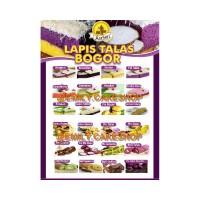 IL744 Kue Lapis Talas ARASARI khas Bogor Murah